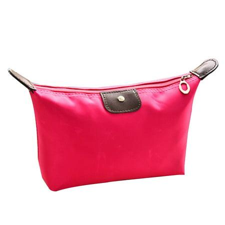 Waterproof Nylon Women Makeup Cosmetic Bags Travel Beauty Toiletry Bag - image 1 of 8