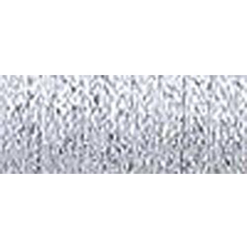 Kreinik Fine Metallic Braid, #8, 11yd, Platinum