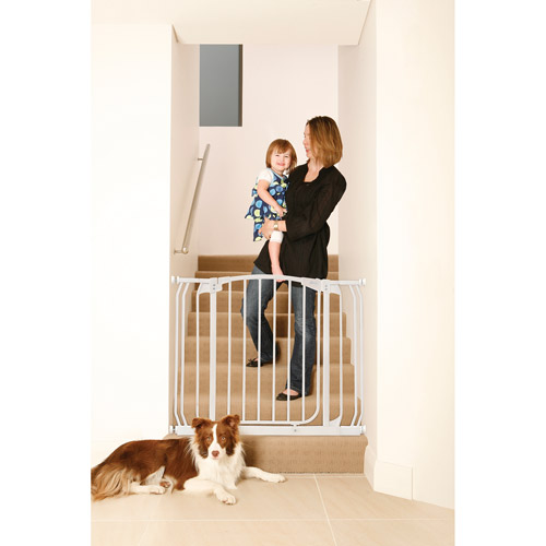 Dreambaby Chelsea Auto Close Security Gate with Extensions, White