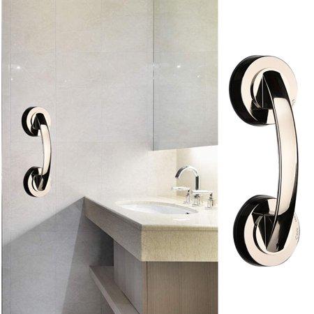 Bath Safety Handle Suction Cup Handrail Grab Bathroom Grip Tub Shower Bar