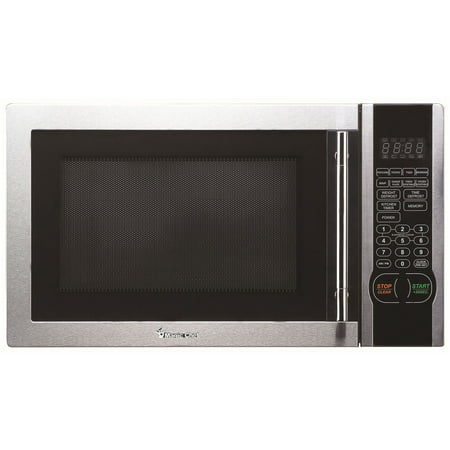 Magic Chef 1.1 Cubic-Ft, 1,000-Watt Stainless Microwave With Digital Touch (MCM1110ST )1.1 cf Microwave Stainless