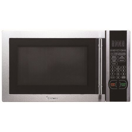 Magic Chef 1.1 Cubic-Ft, 1,000-Watt Stainless Microwave With Digital Touch (MCM1110ST )1.1 cf Microwave (Magic Chef Over The Range Microwave Manual)