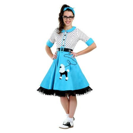 Sock Hop Cutie Plus Size Women's Costume (Fifties Sock Hop Clothes)
