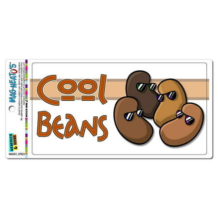 Cool Magnet (Cool Beans - Funny MAG-NEATO'S(TM) Car/Refrigerator)