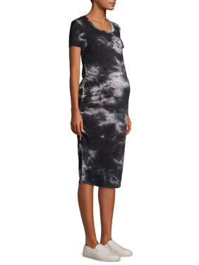 Time And Tru Maternity Side Ruched Dress