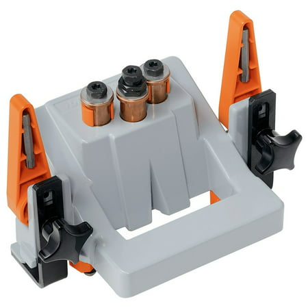 Heavy Duty Reversible Air Drill (Blum M31.1000 Eco Drill, Hinge Jig with Bit & Driver, Heavy Duty )