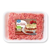 Great Value Mild Italian Ground Pork Sausage, 1 lb