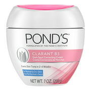 Pond's Correcting Facial Cream Clarant B3 Cream Dark Spot Corrector for Dry Skin 7 oz