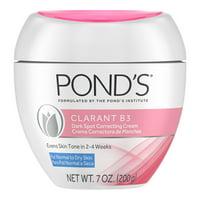 Pond's Correcting Facial Cream Clarant B3 Cream Dark Spot Corrector for Dry Skin 7 oz