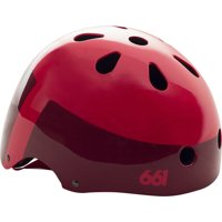 SixSixOne Dirt Lid Helmet: Red One Size