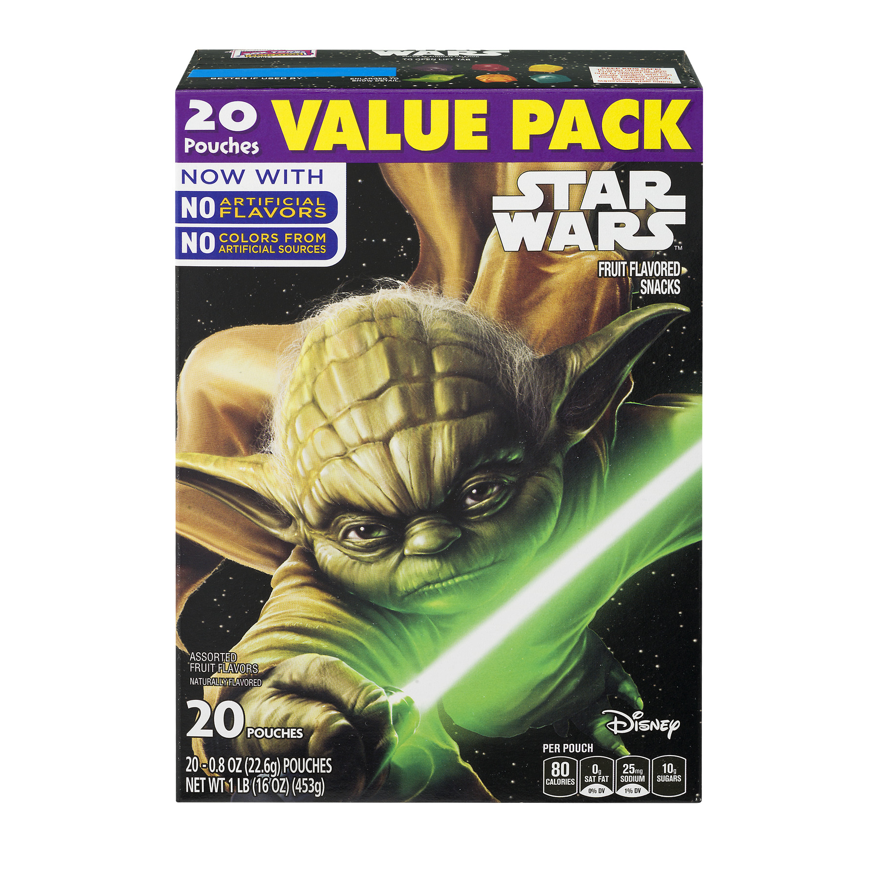 Betty Crocker® Star Wars Fruit Flavored Snacks Assorted Flavors 20 - 0.8 oz Pouches
