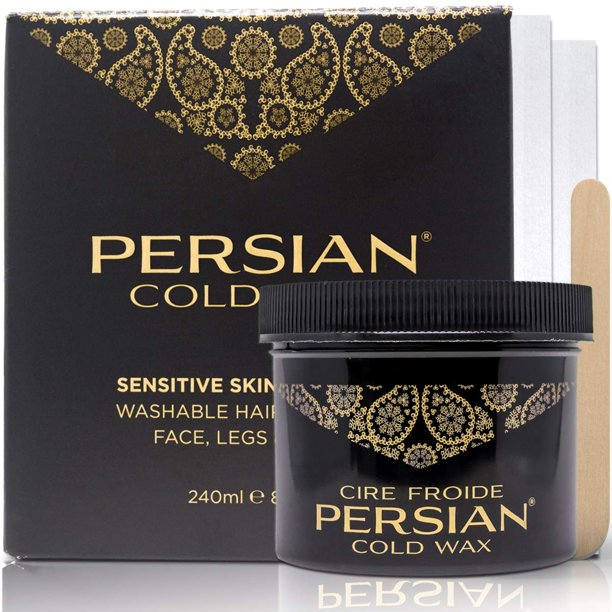 Persian Cold Wax Kit Hair Removal Sugar Wax For Body Waxing Women