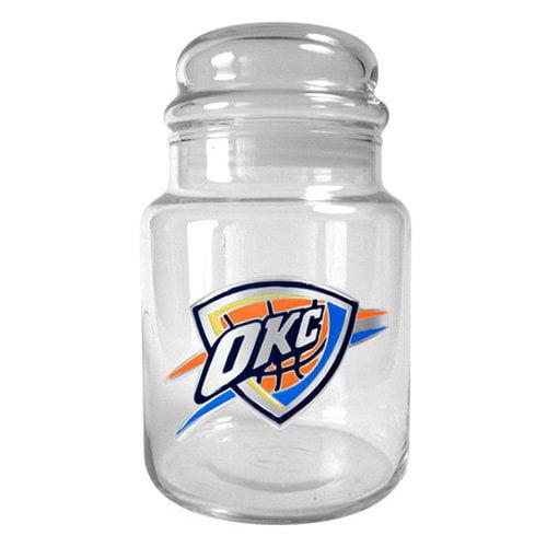 Great American NBA 31 oz. Glass Candy Jar