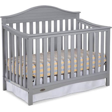Graco Harbor Lights 4 in 1 Convertible Crib Pebble Gray