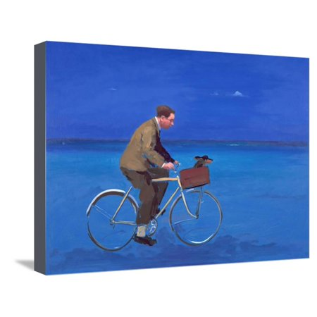 Cyclist, 2005 Stretched Canvas Print Wall Art By Alan Kingsbury