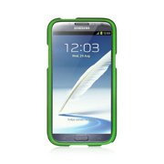 Insten Rubberized Hard Snap-in Case Cover For Samsung Galaxy Note II - Green