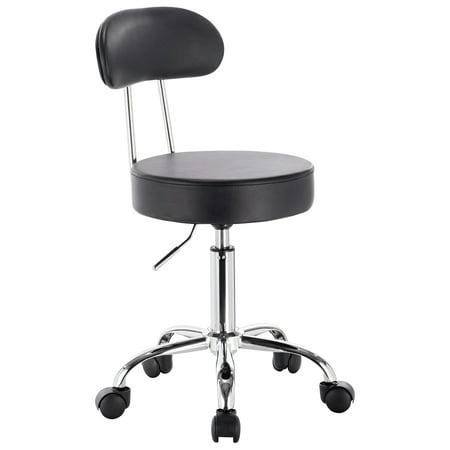saturn adjustable height massage stool w wheels. Black Bedroom Furniture Sets. Home Design Ideas