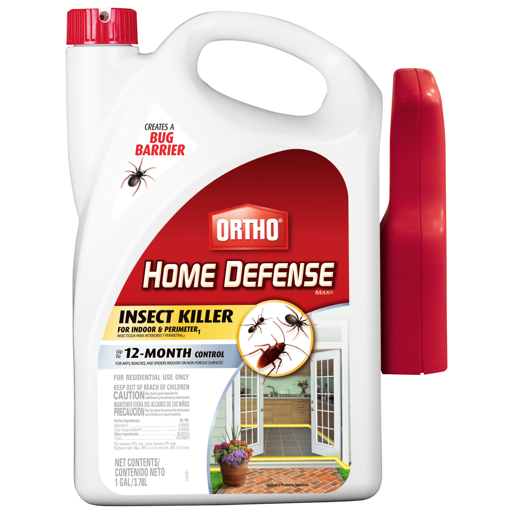Ortho Home Defense MAX Insect Killer for Indoor & Perimeter1 Ready-To-Use Trigger 1 gal