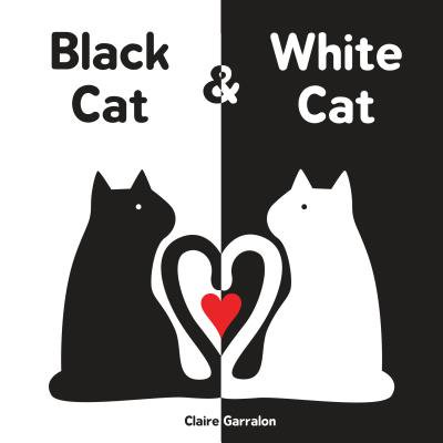 Black Cat and White Cat (Board - Black Cat Poems For Halloween