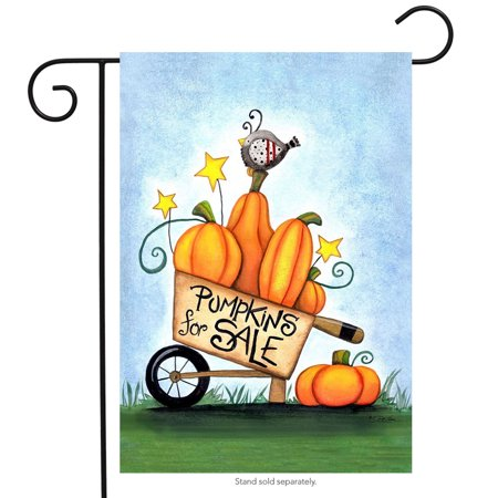 Fall Sale Ends (pumpkins for sale fall garden flag primitive autumn pumpkin cart 12.5