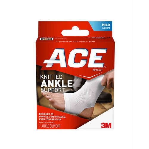 ACE Brand Compression Ankle Support, Large / Extra Large