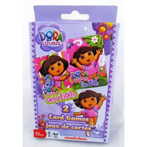 Dora the Explorer Go Fish & Crazy Eights Card Game by Cardinal