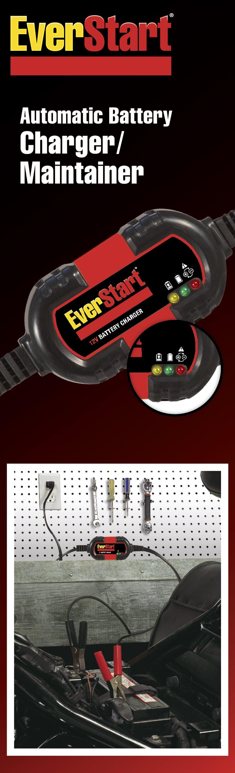 Everstart 12v Automotive Marine Battery Charger And Maintainer Bm1e Walmart Com Walmart Com