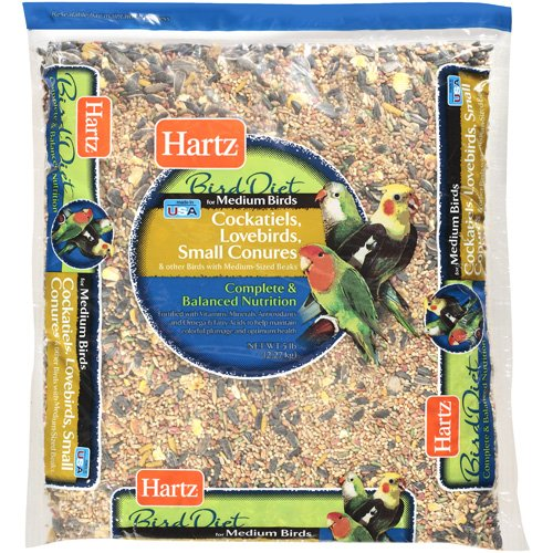 Hartz: Medium Bird Diet Food, 5 Lb by Generic
