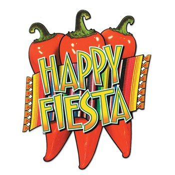 Happy Fiesta Cutout Party Accessory (1 - Festas De Halloween