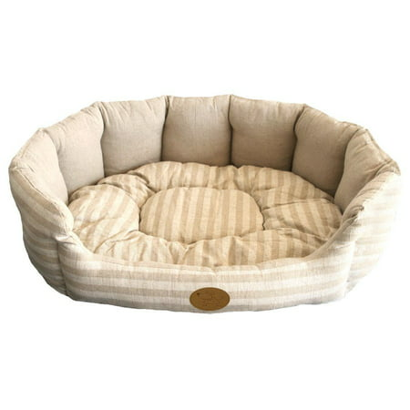 Pet Bed Dog Lounger Cat Crate Mat Soft Warm Pad Liner Soft Cushion Washable Lotus (Best Bed Liner For The Money)