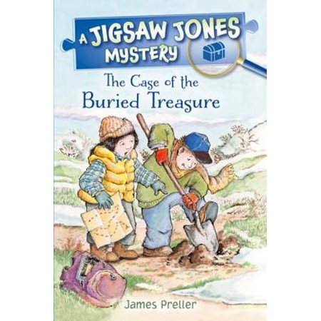 Jigsaw Jones: The Case of the Buried Treasure - eBook
