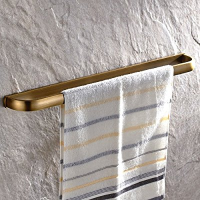 leyden retro bathroom accessories solid brass antique brass finished towel bar home decor towel holder towel bars wall maounted ()