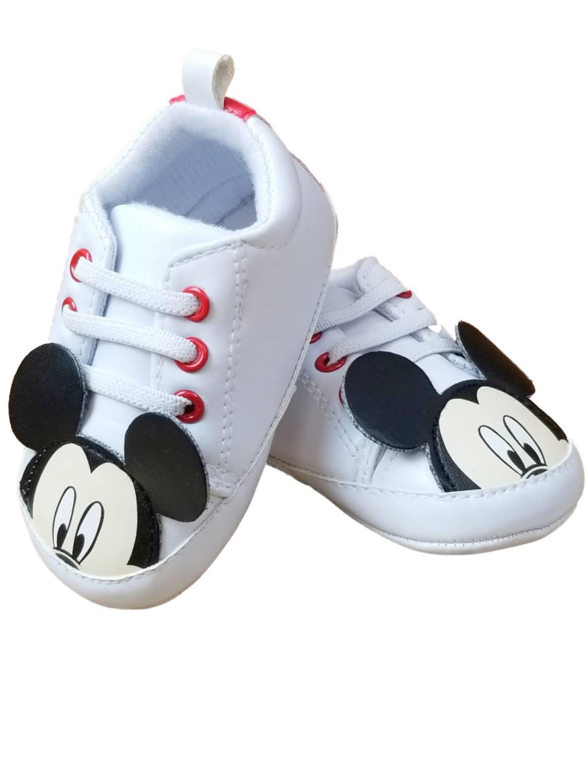 Disney Infant Boys \u0026 Girls White Mickey
