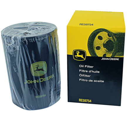 John Deere Original Equipment Oil Filter #RE59754 (John Deere 125 Lawn Tractor Oil Filter)