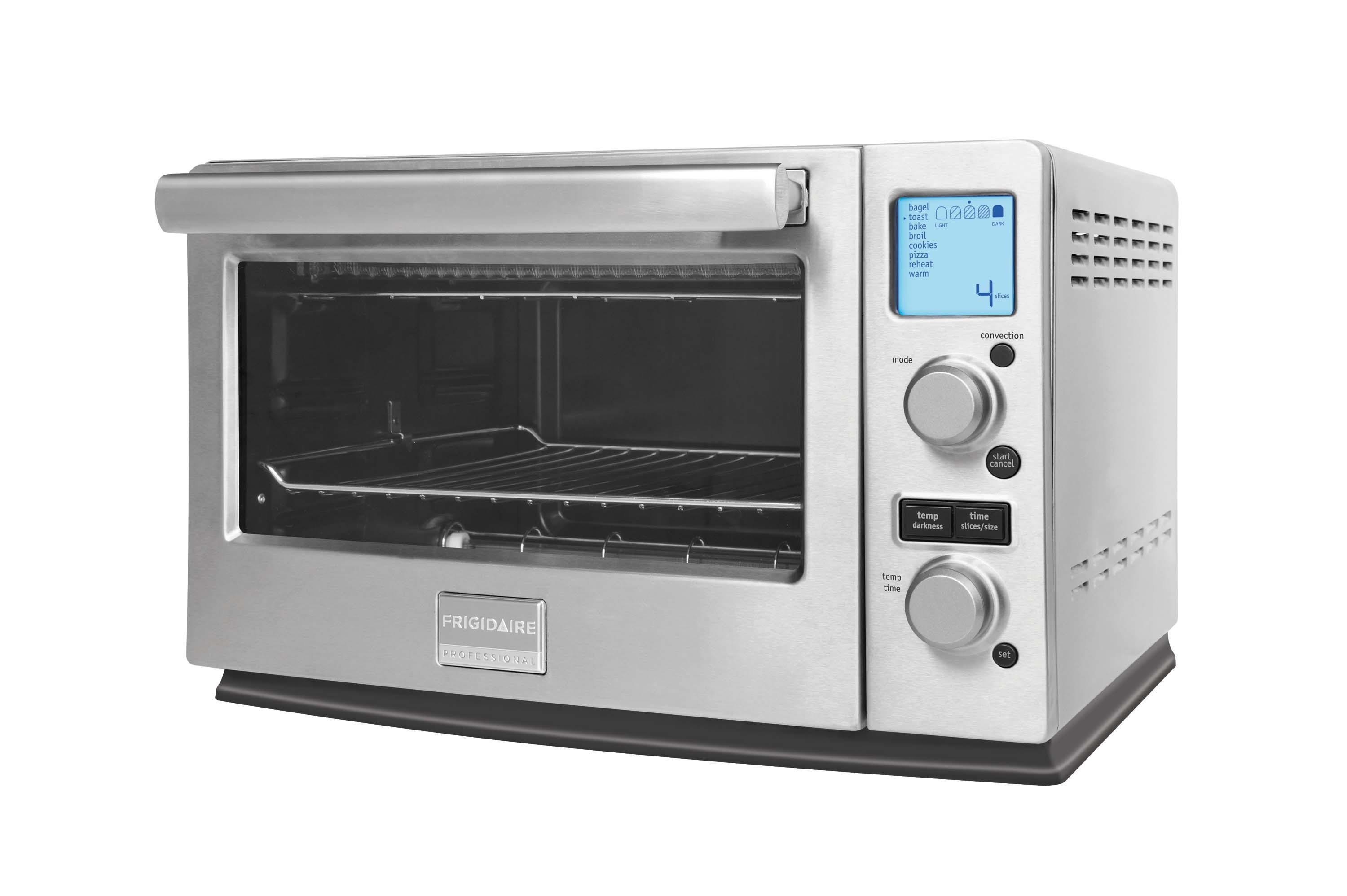 breville a chrome classic beach hamilton toaster oven exterior with slice cool convection