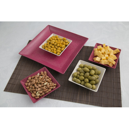 George Oliver Caton 5 Piece Serving and Snack Tray Set