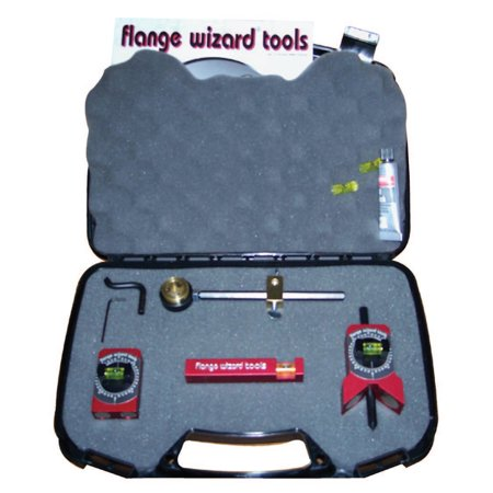 Flange Wizard Lil' Wiz Tool Kits, Repair Kit; Circle Wiz; Level; Tape Holder; Centering Head