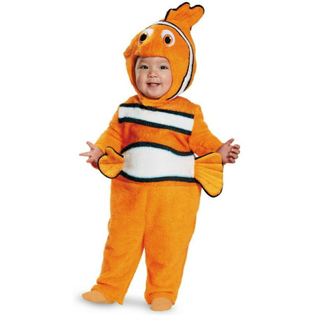 Nemo Prestige Toddler Halloween Costume, 12-18 Months - Finding Nemo Dress