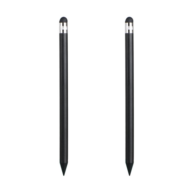2-pack Precision Capacitive Stylus Touch Screen Pen for iPhone Samsung iPad and other Phone Tablet or Devices