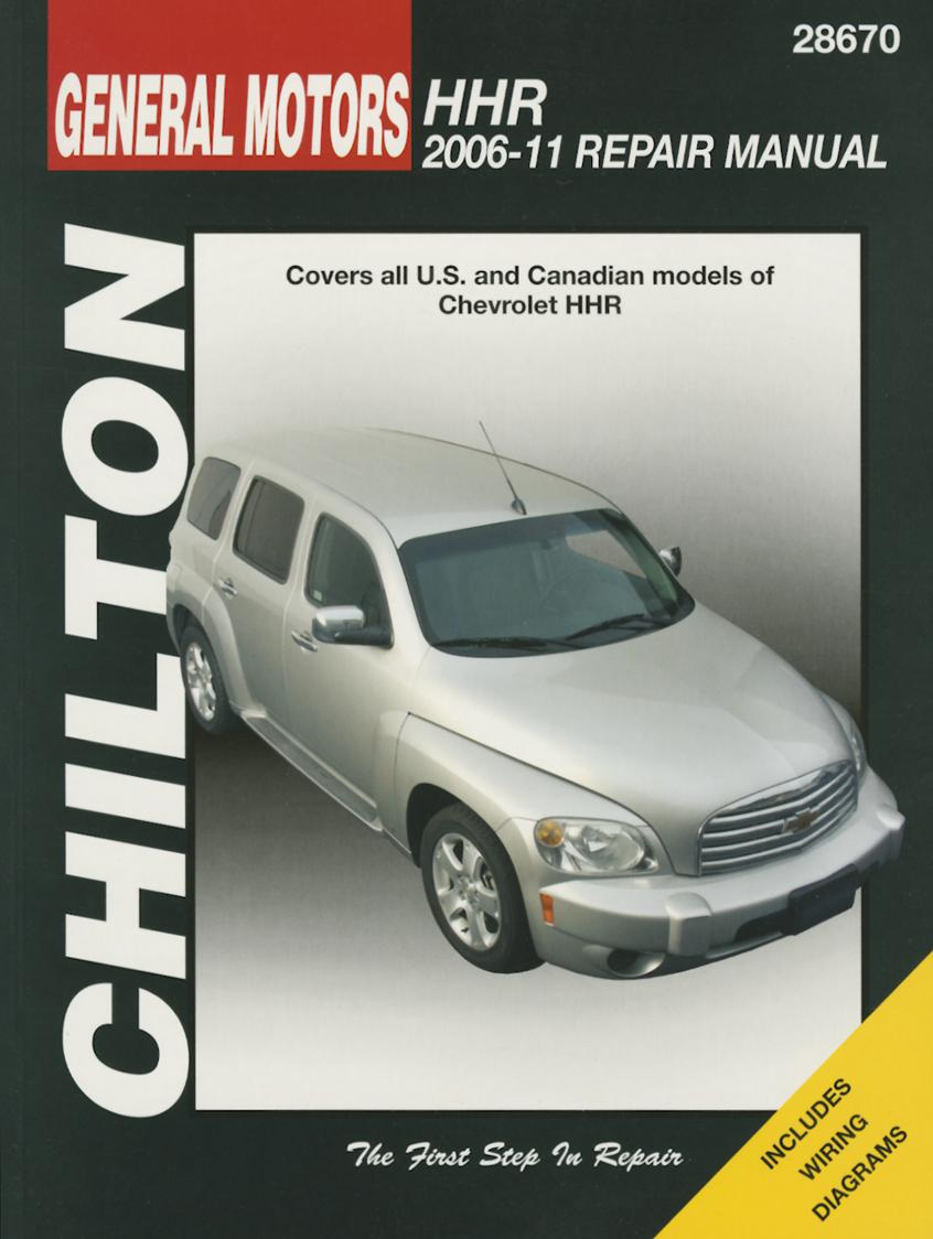 chilton tcc gm chevrolet hhr 2006 2011 repair manual walmart com rh walmart com Chevy 4x4 Repair Manual Chilton Repair Manuals Ford