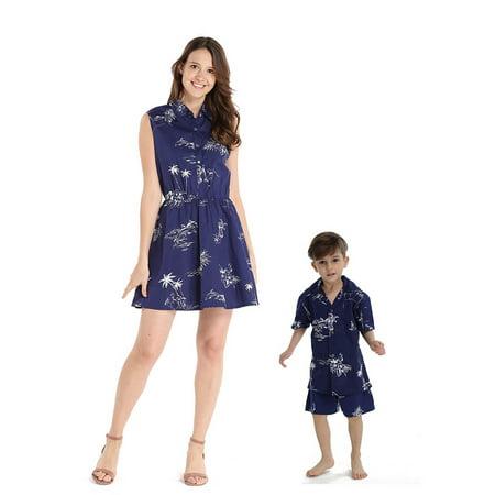 98b11bf15 Hawaii Hangover - Matching Mother Son Hawaiian Luau Outfit Women ...