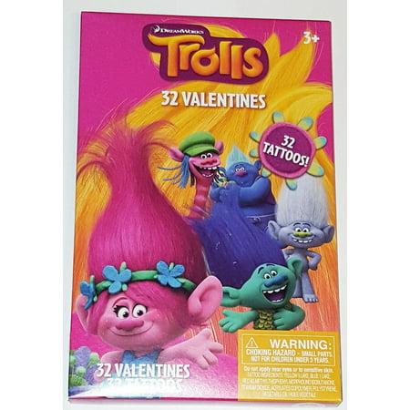 Valentine Val 32 Trolls Tattoo - Valentine Tattoo