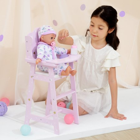 Olivias Little World - Twinkle Stars Princess Baby Doll High Chair