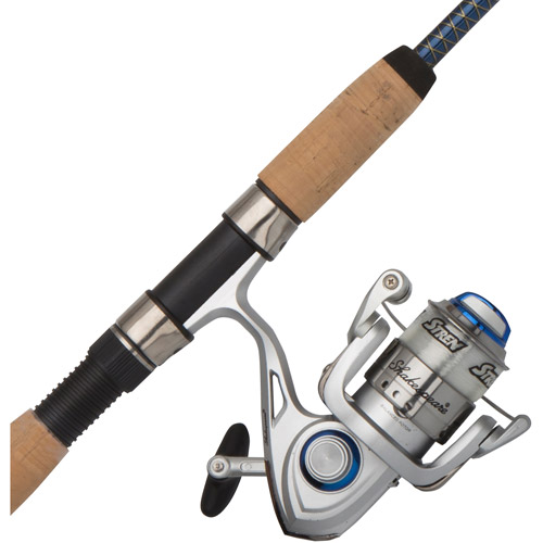 Shakespeare Ugly Lite Pro Spinning Reel and Fishing Rod Combo