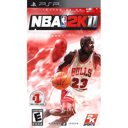 NBA 2K11 - Sony PSP, Relive 10 different legendary games from Michael Jordan's career and replicate in NBA 2K11 what MJ did on the court..., By 2K Games Ship from