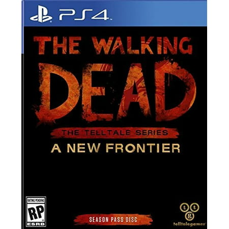 Walking Dead Telltale Series New Frontier (Season Pass Disc), WHV Games, PlayStation 4, 883929564378