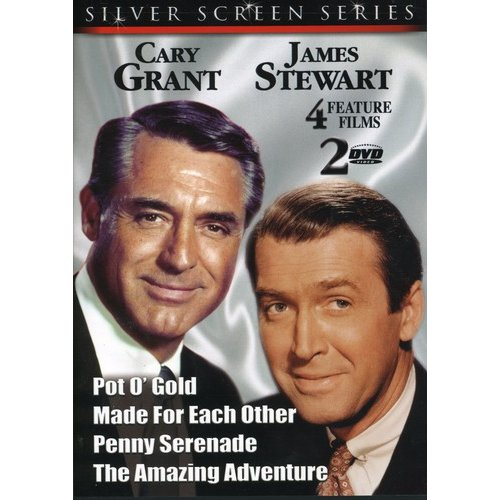 Cary Grant and James Stewart [2 Discs] (Full Frame)