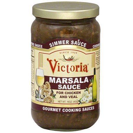 Victoria Marsala Simmer Cooking Sauce, 16 oz (Pack of 6)