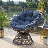 Belham Living Kambree All Weather Wicker Outdoor Papasan Chair