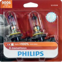 Philips X-Tremevision Headlight 9006, P22D, Clear, Always Change In Pairs!